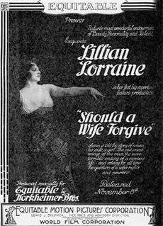 <i>Should a Wife Forgive?</i> 1915 film by Henry King