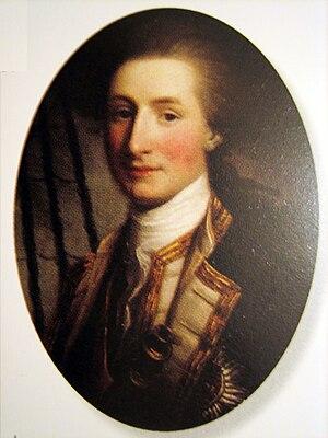 John Lindsay (Royal Navy officer) - Sir John Lindsay as a young naval officer, by Nathaniel Hone