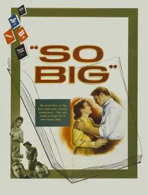 So Big (1953 film) - Theatrical release poster