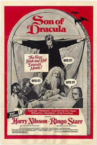 Son of Dracula (1974 film) - Theatrical release poster