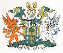 Coat of arms of Southall Borough Council