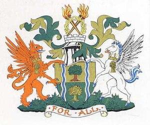 Municipal Borough of Southall - Coat of arms of Southall Borough Council