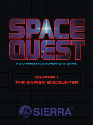 Space Quest I - Original cover art