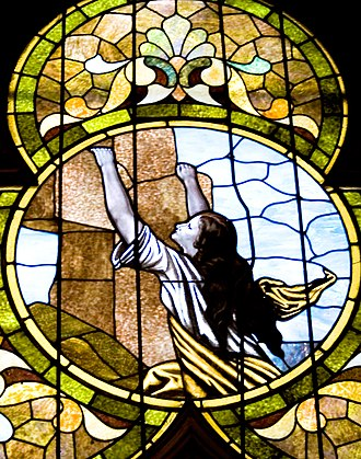 Lenox College - More stained glass in the museum church