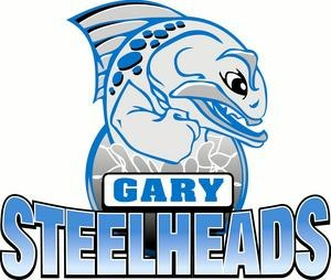 Gary Steelheads - Former logo, while in the CBA