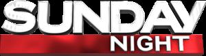 Sunday Night (Australian TV program) - Image: Sunday Night title logo