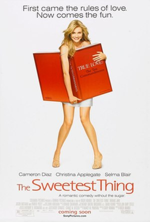 The Sweetest Thing - One of theatrical release posters