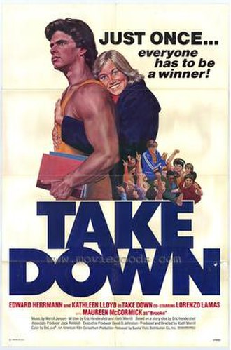 Take Down (1979 film) - Image: Take Down(Film)1979Movie Poster