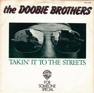 Takin' It to the Streets (song) - Image: Takin' It to the Streets Doobie Brothers