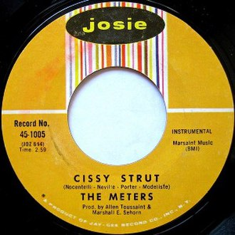 Cissy Strut - Image: The meters cissy strut song cover