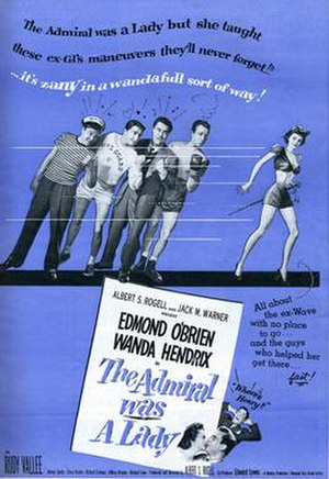 The Admiral Was a Lady - Film poster