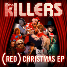 The Killers - (Red) Christmas EP.png