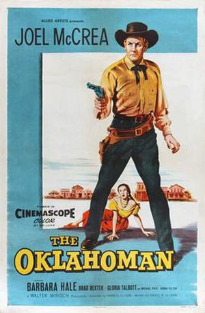 The Oklahoman (film) - Image: The Oklahoman 1957