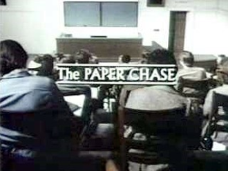 The Paper Chase (TV series) - Title screen