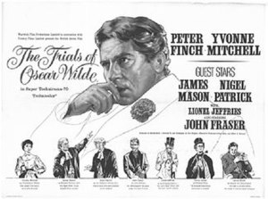 The Trials of Oscar Wilde - Image: The Trials of Oscar Wilde poster