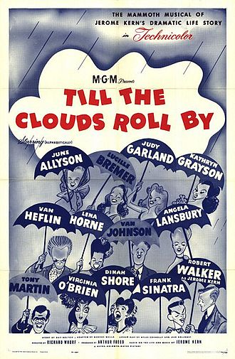 Till the Clouds Roll By - theatrical release poster