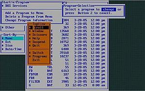 IBM TopView - Image: Topviewvirtualpc