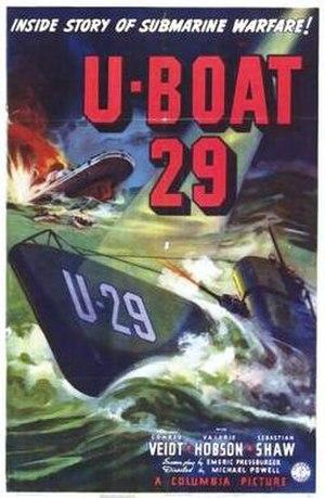 The Spy in Black - U.S. film poster