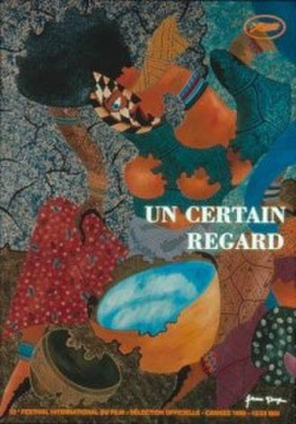 1999 Cannes Film Festival - 199 Un Certain Regard poster, adapted from an original illustration by Assane N' Doye.