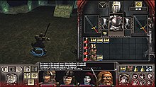 A gameplay screenshot featuring a 3D environment and the game's user interface
