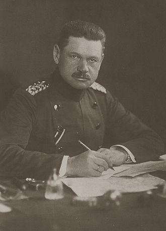Curt von Morgen - Curt von Morgen during WWI