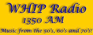WHIP (AM) - Image: WHIP logo