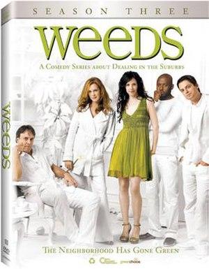 Weeds (season 3) - Image: Weeds S3 DVD