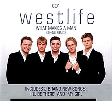 Westlife — What Makes a Man (studio acapella)