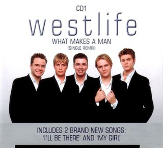What Makes a Man 2000 single by Westlife