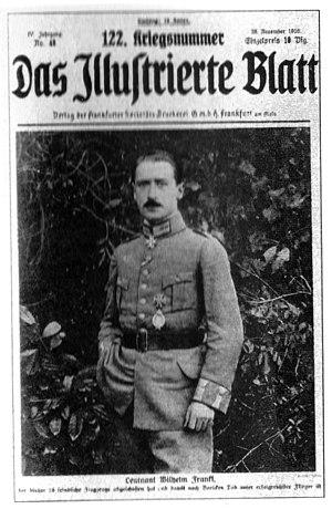 Wilhelm Frankl - Image: Wilhelm Frankl Titelbild Das Illustrierte Blatt 122 Kriegsnummer, November 1916