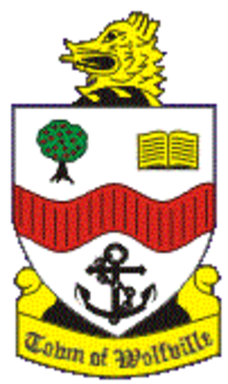 Wolfville - Image: Wolfville NS coat of arms