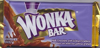 Wonka Bar - The consumer product Wonka Bar