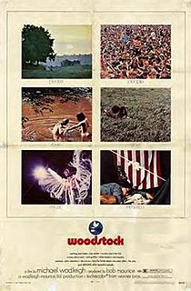 <i>Woodstock</i> (film) 1970 documentary film