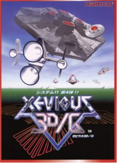 <i>Xevious 3D/G</i> 1997 video game