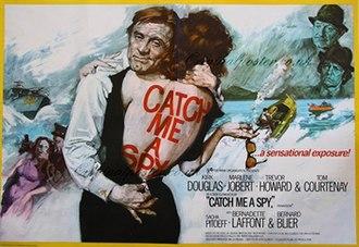 To Catch a Spy - Original British quad poster by Arnaldo Putzu
