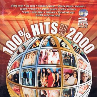 100% Hits: The Best of 2000 - Image: 100% Hits The Best of 2000