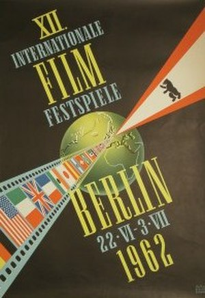 12th Berlin International Film Festival - Festival poster