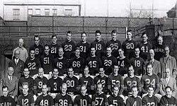 The 1946 NFL Championship team photo