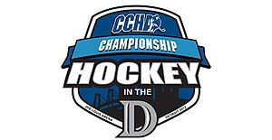 2012 CCHA Men's Ice Hockey Tournament Logo