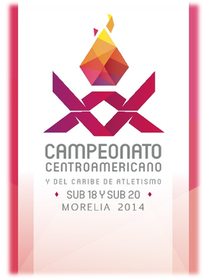 2014 Central American and Caribbean Junior Championships logo.png