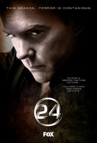 24 (season 3) - Promotional poster