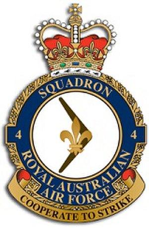 No. 4 Squadron RAAF - Image: 4Sqn RAAF Crest