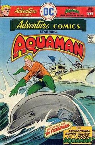 Aquaman - Image: Adventure Comics 443 (1976)