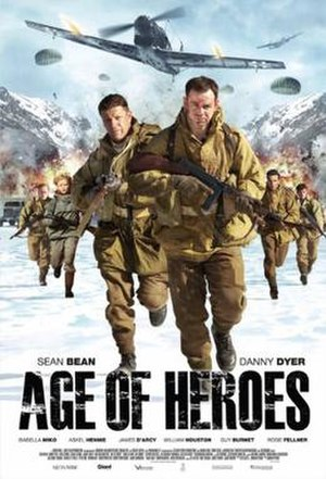 Age of Heroes (film) - Theatrical release poster