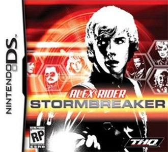 Alex Rider: Stormbreaker - North American DS box art