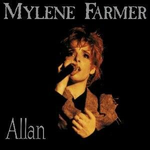 Allan (song) - Image: Allan (Mylene Farmer single cover art)