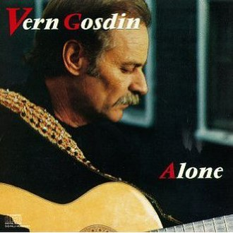 Alone (Vern Gosdin album) - Image: Alone Gosdin