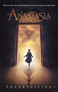<i>Anastasia</i> (1997 film) 1997 film by Don Bluth, Gary Goldman