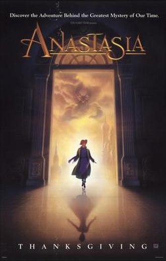 Anastasia (1997 film) - Theatrical release poster