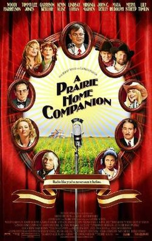 A Prairie Home Companion (film) - Theatrical release poster